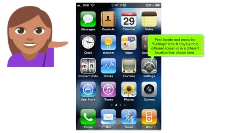 How to set up Yahoo mail account on iPhone Configure Yahoo on iPhone Yahoo settings