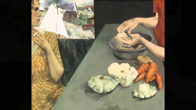 Directors Choice - Vegetable Dinner by Peter Blume