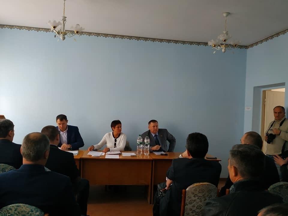 Як пройшло засідання госпітальної ради Таврійського округу