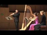 Ravi Shankar-L'Aube Enchantee-Thomas Robertello, flute, Maria Luisa Rayan-Forero, harp