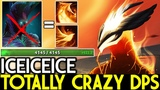 Iceiceice Phoenix Totally Crazy Damage Per Second 7.19 Dota 2