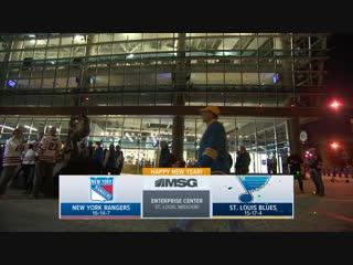 NHL 18/19, RS, New York Rangers - St. Louis Blues [31.12.2018, MSG]