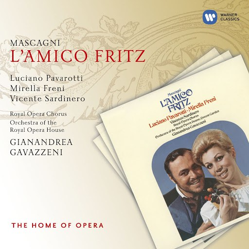 Luciano Pavarotti альбом Mascagni: L'amico Fritz