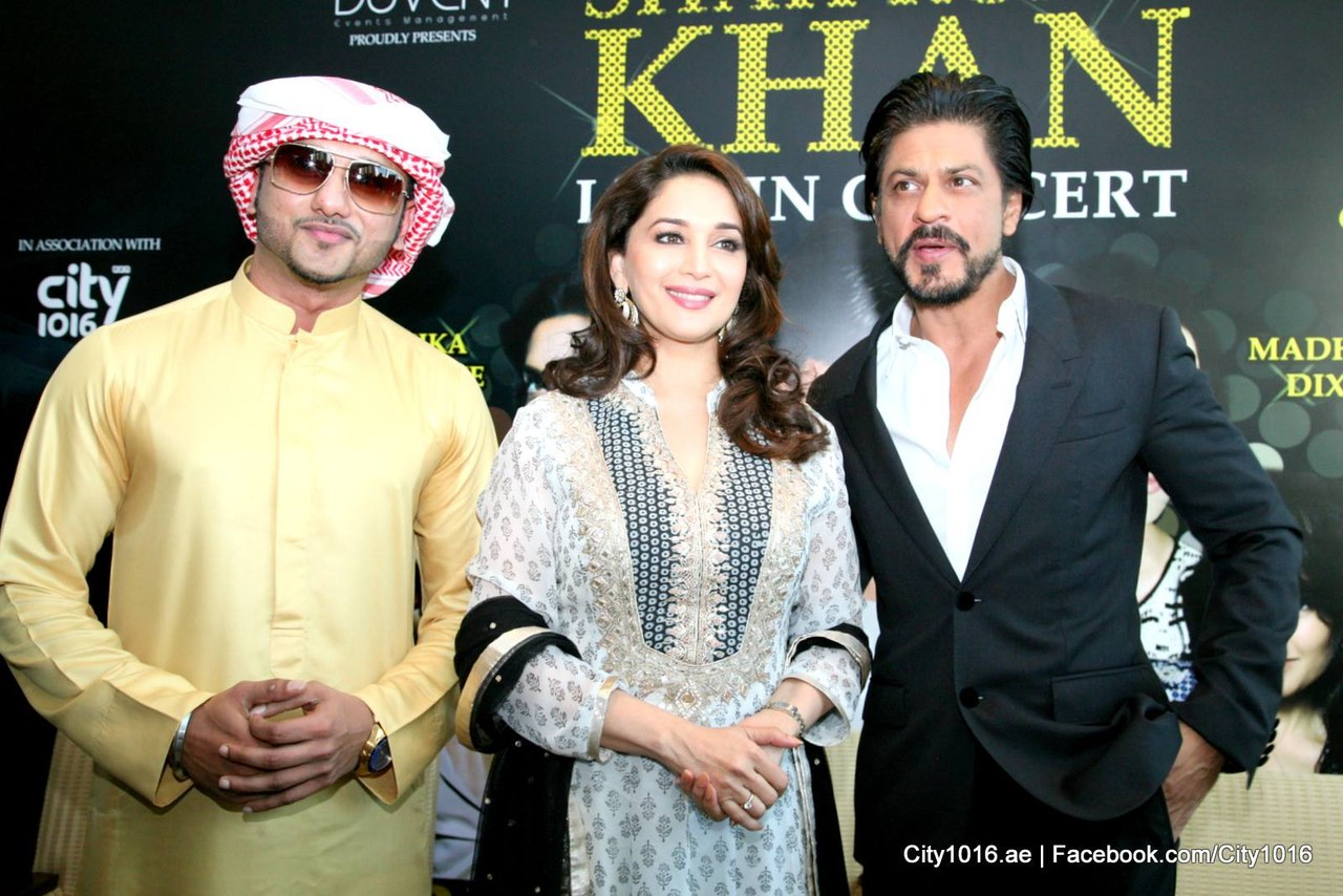 zN9HpsFRFE - Shah Rukh Khan and Madhuri congratulate Dubai on Expo 2020 win