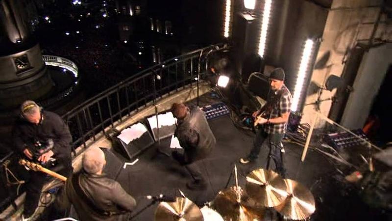U2 - 4tr live @ BBC Rooftop 27 February 2009 [ HQ ] Complete