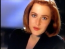 Late 1990s Gillian Anderson X-Files ECNZ New Zealand TV Ad
