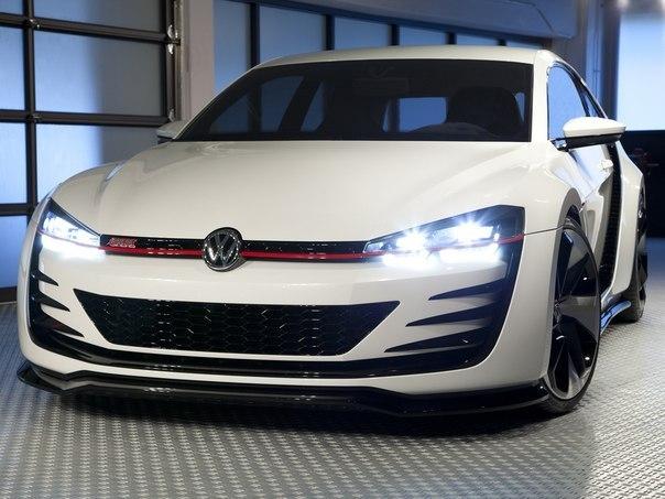 Volkswagen Design Vision GTI '2013 Двигатель 3.0 V6 Мощность 503 л.с. Крутящий момент 560 Нм Разгон 0-100 3.9 сек. Макс.скорость 300 км/ч Привод полный