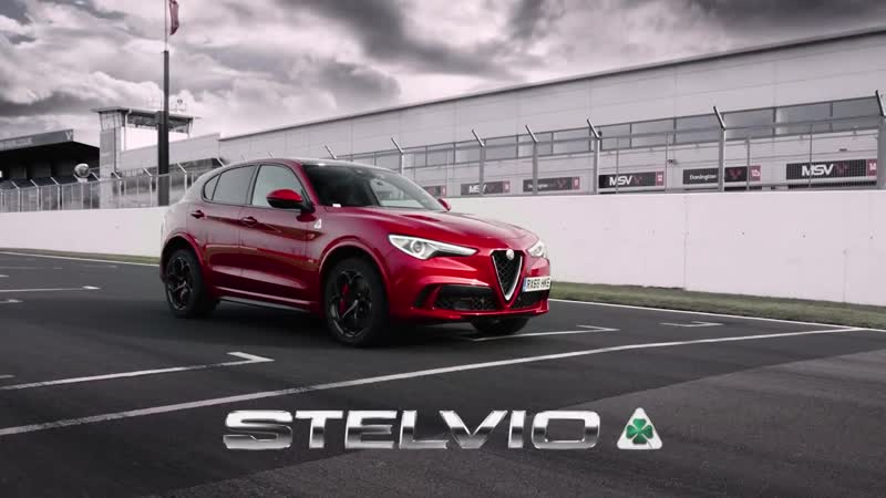 Alfa Romeo Stelvio Quadrifoglio - SUV Production Lap Records at UK's Top Three Race Circuits
