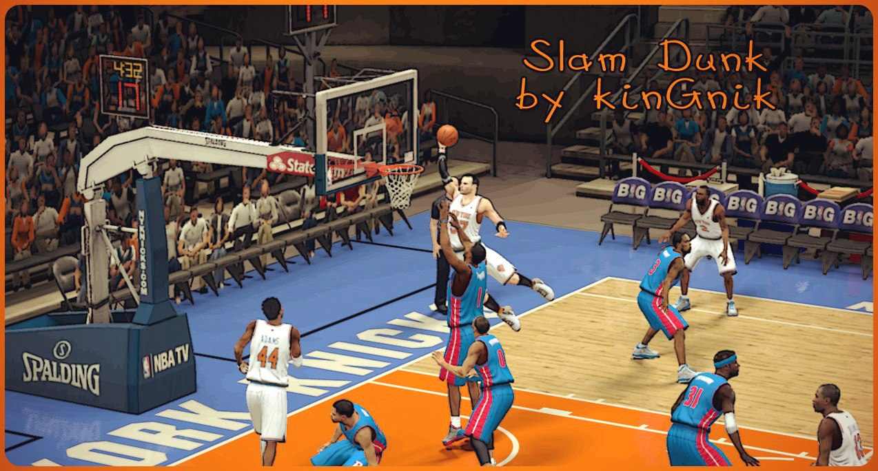Slam Dunk by kinGnik