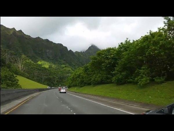 От Кайлуа до больницы Триплер и обратно - From Kailua to the Hospital Tripler and back