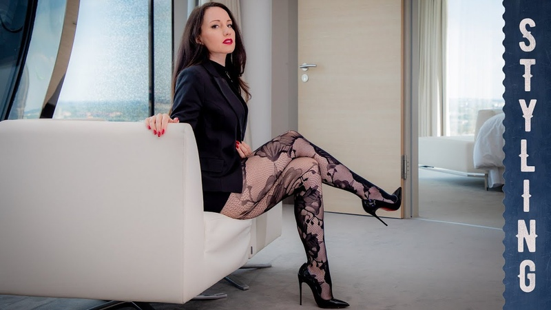 LONG LEGS PANTYHOSE TIGHTS - Tipps - Walking in High Heels - PART 2
