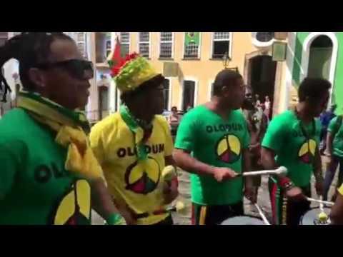 OLODUM (Ao Vivo-Vídeo1) - PELOURINHO - Ensaio Copa do Mundo 2018 - Salvador (Ba) HD