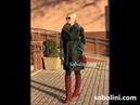 Модная Шуба в изумрудном цвете бобер американский с норочкой В наличии в шоу Рум Соболини