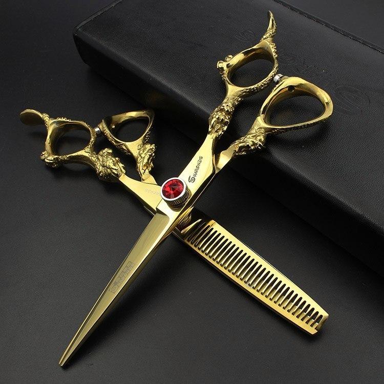 Стилизованные парикмахерские наборы ножниц -