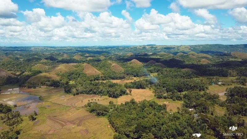 Шоколадные холмыФилиппины
