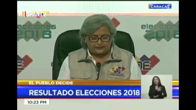 Nicolás Maduro es reelecto presidente de Venezuela por 6 años más