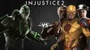 Injustice 2 Бэйн против Спидстеров Intros Clashes rus