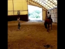 Летний конный лагерь для детей.