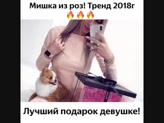 Мишки из роз! 2019