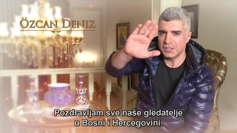 OZCAN DENIZ - POZDRAV ZA GLEDATELJE HAYAT TV-a