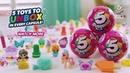 ZURU 5 Surprise Pink Toy Capsule Unboxing 5 Surprises in One Blind