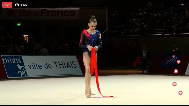 Арина Аверина - лента (финал) Гран-При 2019, Тье