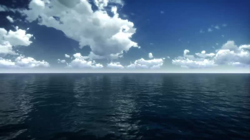 Зависание над морем / Hovering over sea