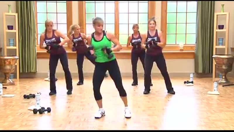 Powersculpting (Workout 2). Lift Келли Коффи-Мейер - Тренировка с гантелями