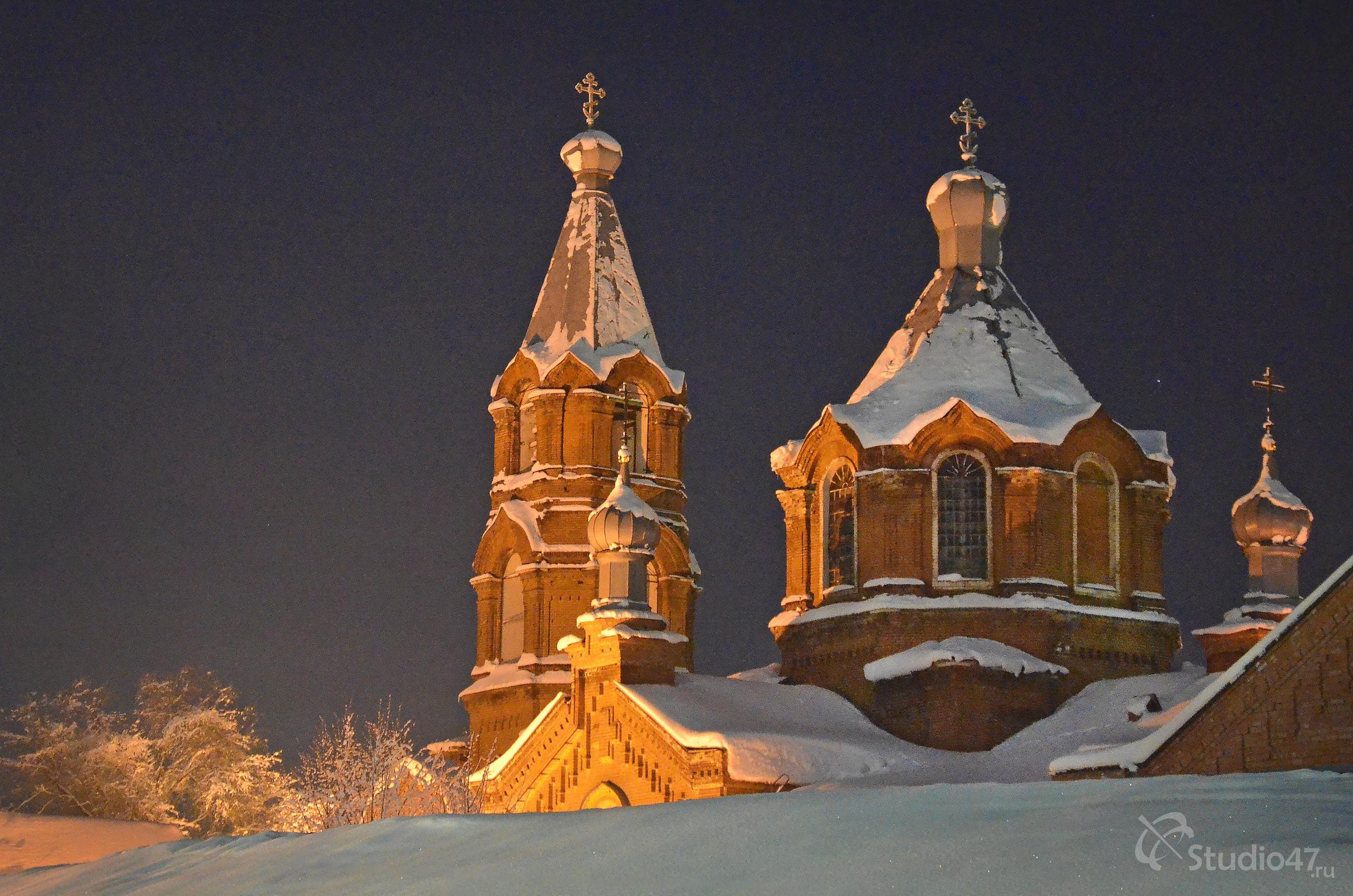 Никольский храм в Борисоглебске