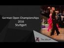 WDSF Grand Slam Latin Stuttgart Igor Sannikov Anna Anakina Rumba