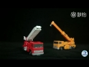 MS Toys MS-01 ArchitectGrapple и MS-02 Fire ExtinguisherInferno stopmotion