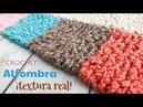 Alfombra a crochet con textura real / Taller en vivo de Tejiendo Perú 😁