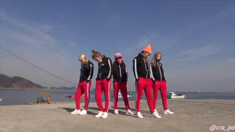 Kim Min Young Crayon Pop- bing bing (dance practice)
