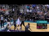 LeBron James throws it down!