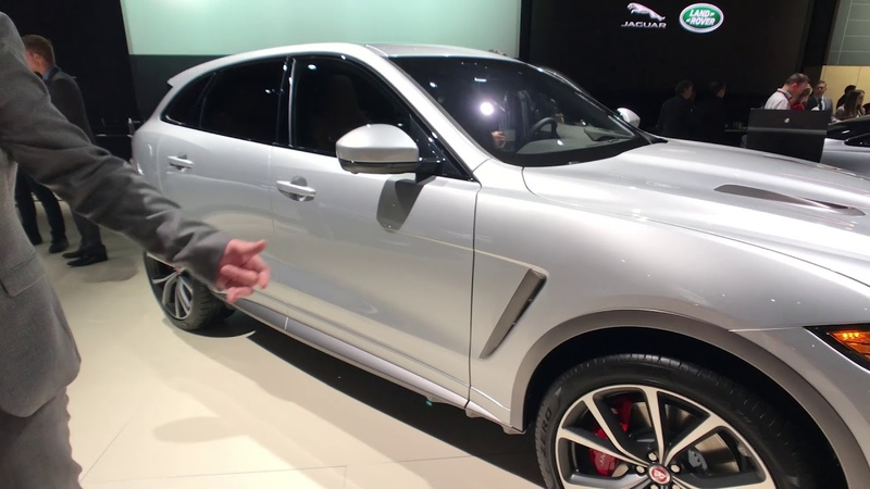 Closer look at the 2019 Jaguar F-Pace SVR with designer Wayne Burgess