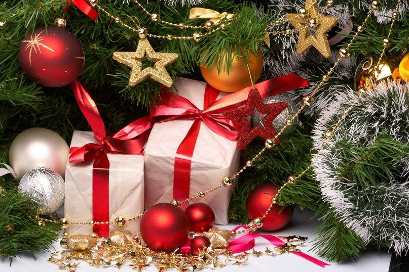 новорічні і різдвян подарунки і вірш