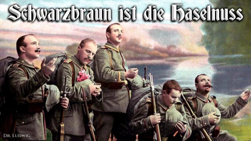 Schwarzbraun ist die Haselnuss ✠ [German folk song][ english translation]