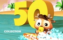 One to Fifty Numbers Song | Count to Fifty Songs | Nursery Rhymes Collection for Kindergarten Kids