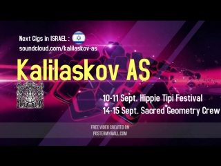 Kalilaskov AS - September 2 Gigs on Festivals in Israel
