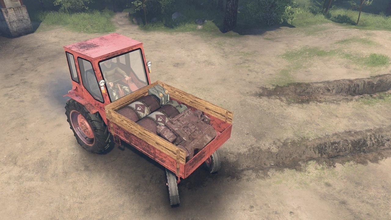 Трактор T16 для 03.03.16 для Spintires - Скриншот 1