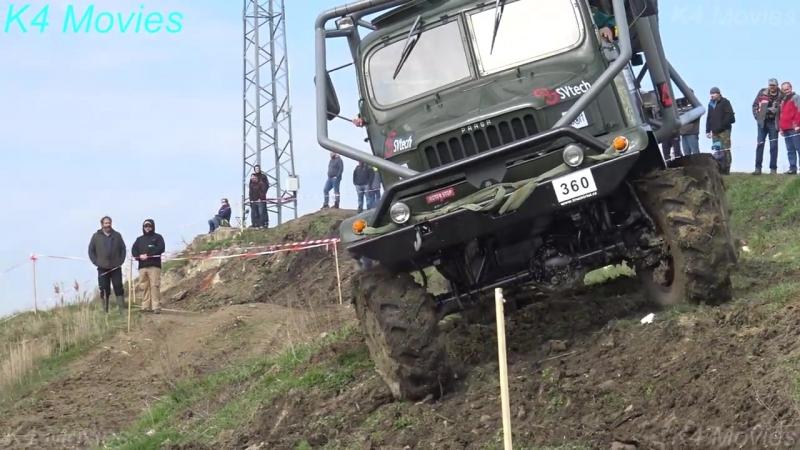6X6 Praga truck in Truck Trial _ Milovice 2017 _ no. 360