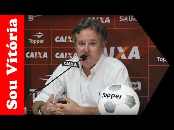 Erasmo Damiani é demitido do Esporte Clube Vitória
