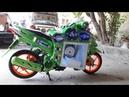 เครื่องเสียง Click-i 110ซับ15นิ้ว Audio motocycle