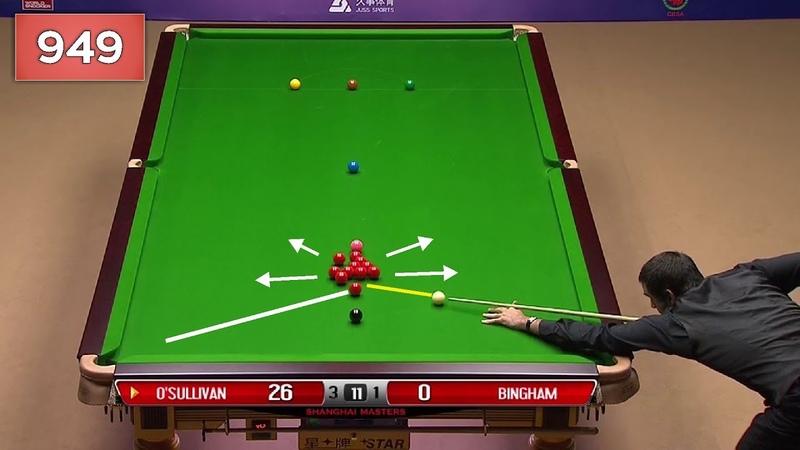 Ronnie O'Sullivan Century Break 949 Highlights [ Short Format ]