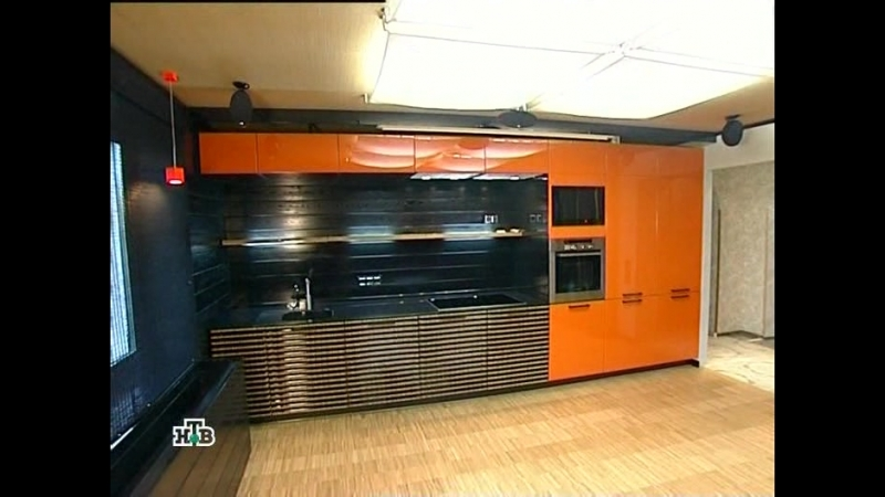 Кухня с водопадом 2009