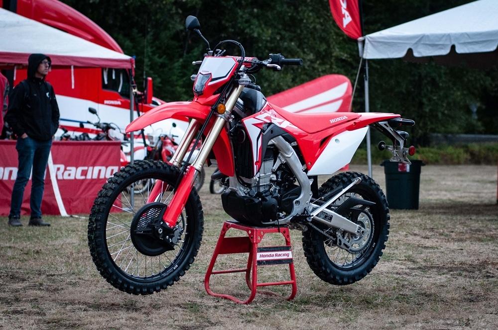 Фотографии эндуро Honda CRF450L 2019