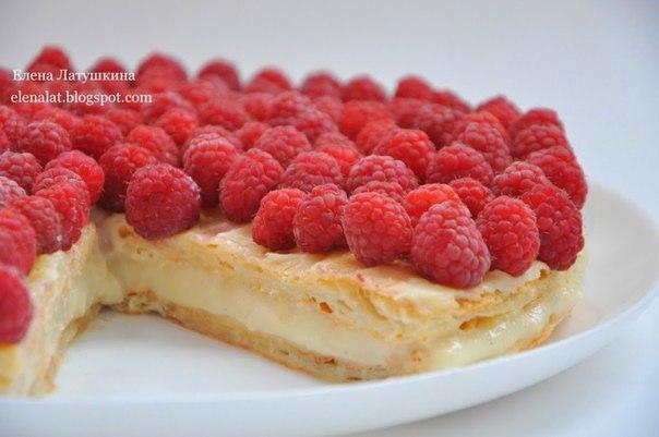 Польский пирог с малиной. Хочу предложить Вам очень