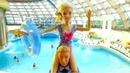 Барби и Кен отдыхают в аквапарке. Игры с Барби для девочек