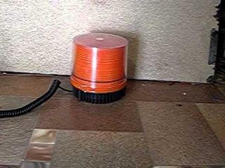 Мигалка на крышу автомобиля оранж - бюджет.