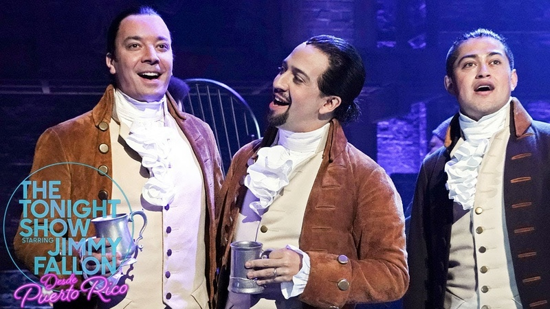 Jimmy Joins Lin-Manuel Miranda and the Hamilton Cast for The Story of Tonight